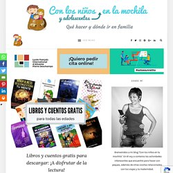 Libros y cuentos gratis para descargar: Leer para pasar la cuarentena