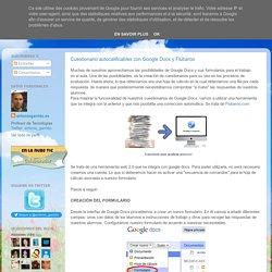 Cuestionario autocalificables con Google Docs y Flubaroo