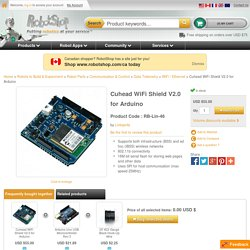 Cuhead WiFi Shield V2.0 for Arduino