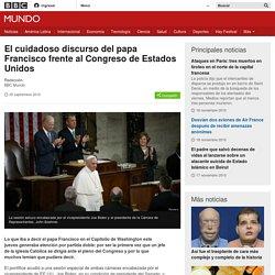 El cuidadoso discurso del papa Francisco frente al Congreso de Estados Unidos - BBC Mundo