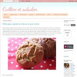Cuillère et saladier: Petits pains rapides à la farine de pois chiche