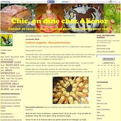 Cuillères nougatine - Mousseline Pistache - Chic, on dîne chez Aliénor