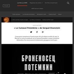 « Le Cuirassé Potemkine » de Sergueï Eisenstein