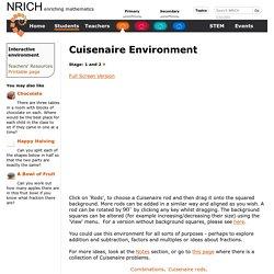 Cuisenaire Environment