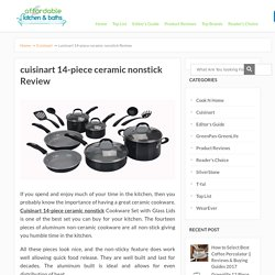 cuisinart 14-piece ceramic nonstick