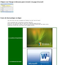 Guides logiciels Office 2010