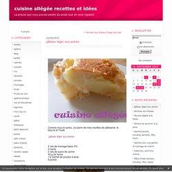 gâteau léger aux poires : cuisine allégée recettes et idées