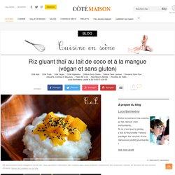 Cuisine en Scène, le blog cuisine de Lucie Barthélémy - CotéMaison.fr