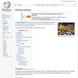 Cuisine catalane