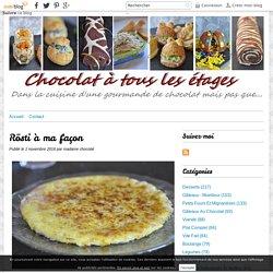 Rösti à ma façon - Blog cuisine avec du chocolat ou Thermomix mais pas que