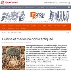 Cuisine et médecine dans l'Antiquité
