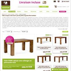 Tables à manger en bois massif pour salle à manger et cuisine – à découvrir chez massivum !