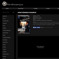 ≡ HD ≡ Cuisine et dépendances en Streaming | Film Complet