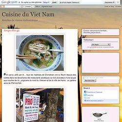 Soupe Pho gà