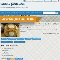 cuisine-facile.com - Nouveau pain au levain