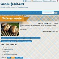 cuisine-facile.com - Pain au levain