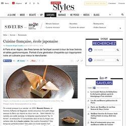 Cuisine française, école japonaise