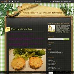 Flan de choux fleur - Cuisine maison & gourmande de Sylvmel