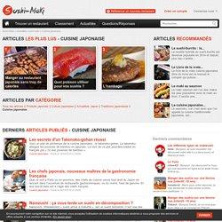 Cuisine japonaise - Actualité de la cuisine japonaise