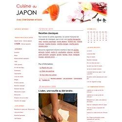 Cuisine du Japon: Recettes classiques