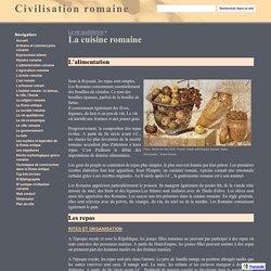 La cuisine romaine