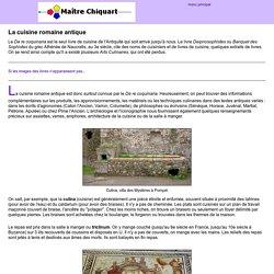 la cuisine romaine antique, Apicius, De re coquinaria