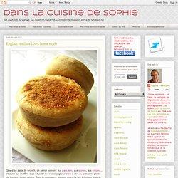 English muffins 100% home made
