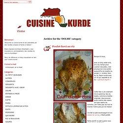 DOLME − Cuisinekurde.com