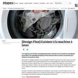 Cuisiner à la machine à laver