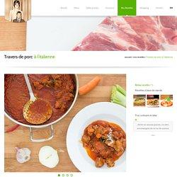 J'aime cuisiner avec Roberto - Travers de porc à l'italienne