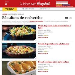 Cuisinez avec Campbell – Résultat de la recherche de recettes