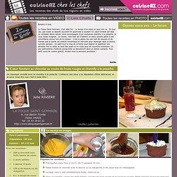 Des recettes de chefs en vidéo !