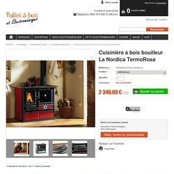 Cuisinière à bois bouilleur La Nordica TermoRosa
