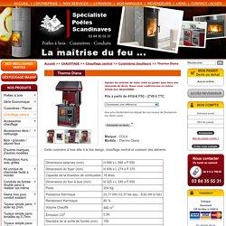 Thermo Diana - Réf. - CHAUFFAGE - Solutions chauffage central - Cuisinières bouilleurs - Espace Poêle Scandinave