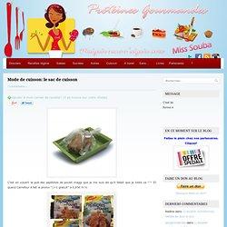 » Mode de cuisson: le sac de cuisson Protéines