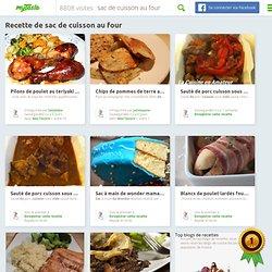 Recettes de sac de cuisson au four - cherchez des recettes sur Touteslesrecettes.fr