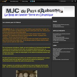 Les cuissonspour la Faïence - Le blog de L'atelier Terre et Céramique
