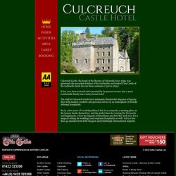 Culcreuch Castle Hotel, Scotland