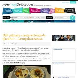 Défi culinaire « restes et fonds de placard » — Le top des recettes