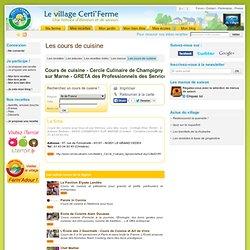 Cercle Culinaire de Champigny sur Marne - GRETA des Professionnels des Services - Cours de cuisine