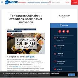 FUN - Tendances Culinaires : évolutions, scénarios et innovation