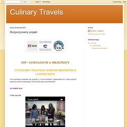 Culinary Travels : Rozpoczynamy projekt