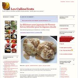 La délicieuse sauce japonaise de Florence Servan-Schreiber pour les légumes chauds