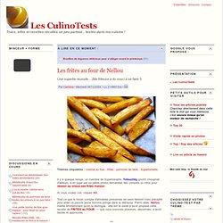 Les frites au four de Nellou