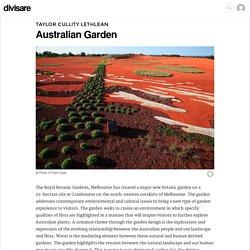 Taylor Cullity Lethlean · Australian Garden