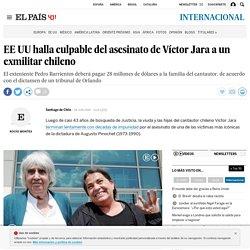 EE UU halla culpable del asesinato de Víctor Jara a un exmilitar chileno