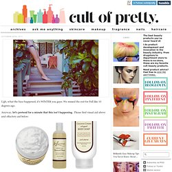 Cult of Pretty - A Cult Beauty Products Blog - StumbleUpon