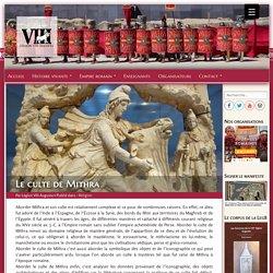 Le culte de Mithra - Légion VIII Augusta