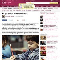 Por qué cultivar la escritura a mano