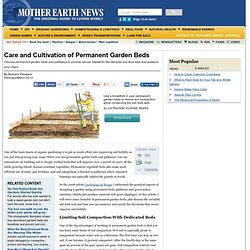 Care and Cultivation of Permanent Garden Beds - Organic Gardening